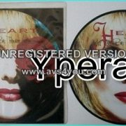 """HEART: Will you be there (in the morning) 7"""" + These Dreams (live) [Picture disc]. Check video"""