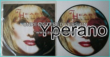 "HEART: Will you be there (in the morning) 7"" + These Dreams (live) [Picture disc]. Check video"