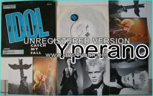 "Billy IDOL: Catch my fall 7"" (strictly limited edition, special box containing 4 postcards + Badge)"
