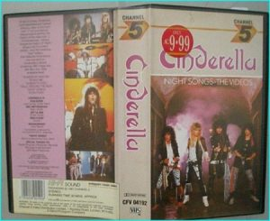 Cinderella Night songs VHS video tape