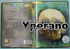 KRUX: Live DVD. Candlemass, Entombed, Talisman, John Norum, Arch Enemy, Opeth, Tiamat members. Check video!