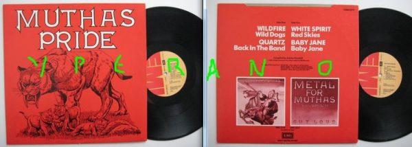 """MUTHAS PRIDE 12"""" Wildfire, Quartz, White Spirit, Baby Jane. Vinyl is Mint condition."""