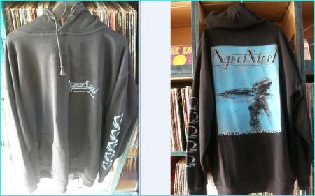 Agent Steel Omega Conspiracy hoodie (or hoody), hooded sweatshirt