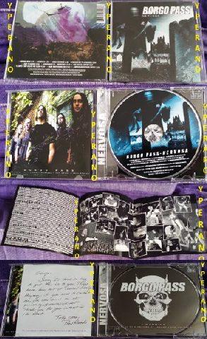 BORGO PASS Nervosa CD