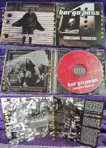 BORGO PASS Slightly Damaged cd