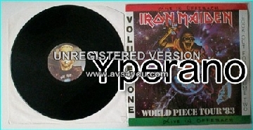IRON MAIDEN World Piece Tour 83 Volume One