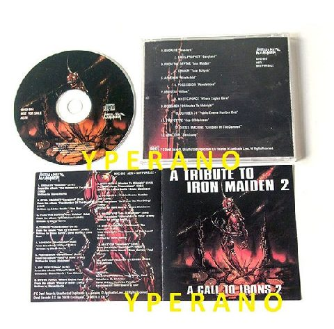 a-tribute-to-iron-maiden-2-a-call-to-irons-2-cd-greek-promo-10-bands-incl-mystic-force-possession-etc