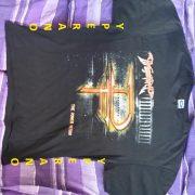 DragonForce T-shirt with Tour Dates (front + back prints), L size.