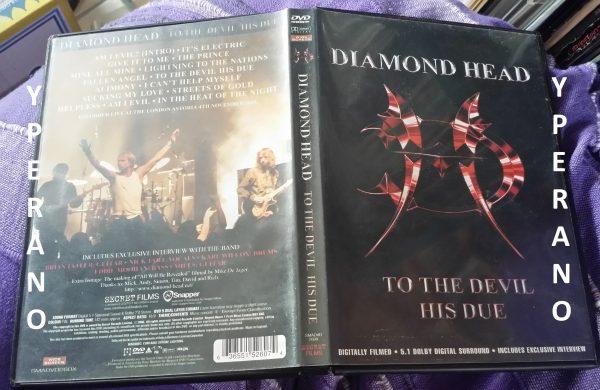 Diamond Head To the Devil His Due DVD 2006 (2)