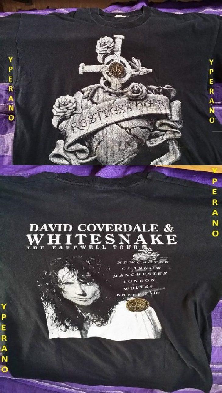 Whitesnake Reckless Heart + Farewell tour on the back (1)