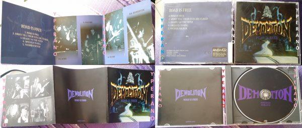 DEMOLITION Road Is Free CD. Rare Japanese (1)