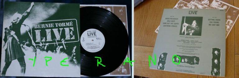 BERNIE TORME: Live LP