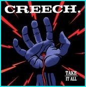 CREECH: Take it all CD [classic Australian rocking out album] Rare only 500 copies. Check video