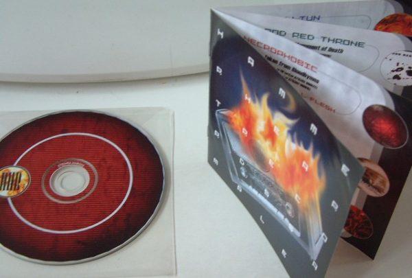 Hammerheart Records Sampler: Music for Generation Armageddon DEATH METAL compilation CD FREE £0 for orders of £28+