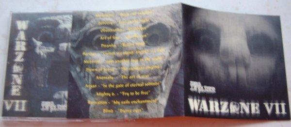 WARZONE VII compilation CD w. Manticore, Obsecration, Hanker, Piranha etc.