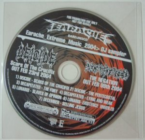 EARACHE Summer DJ sampler 04 CD. Free for orders of £25+