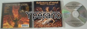 DEFENDERS OF METAL VOL. 1 - THE SEDUCTION CD. Rare 18 track compilation of Pure Heavy Metal.