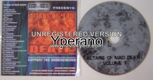 ALTARS OF MAD DEATH Volume 1 compilation CD Death Metal.