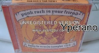 PUNK ROCK IS YOUR FRIEND: Kung Fu Records sampler No 6 CD. Sealed. 23 songs (8 of them unreleased) Check videos