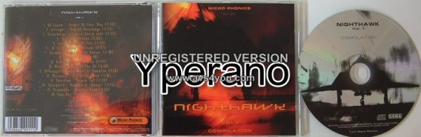 """NIGHTHAWK Compilation Vol. 1 CD. Metal bands from Germany, incl. cult hit """"Kill The DJ"""". Check videos"""