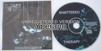 WIZ: Shattered Mind Therapy CD Top Power Metal great singer.