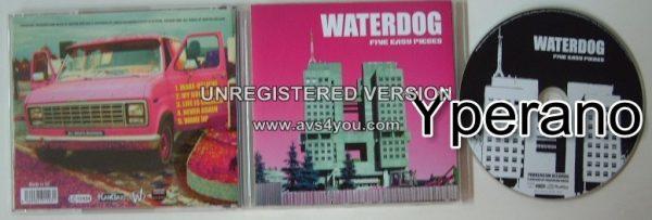 WATERDOG: Five Easy Pieces CD Pop Rock / Goth Rock. + 3 videos