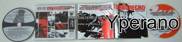 TURBONEGRO: Never Is Forever CD (15 songs / 65:55)
