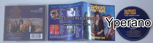 TYGERS OF PAN TANG: The Wreck - Age CD. Check video