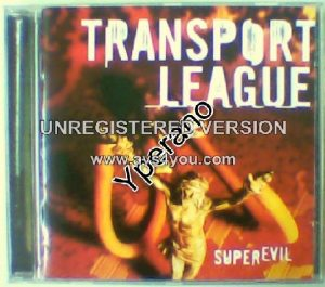 TRANSPORT LEAGUE: Superevil CD. (comes with a free nail to crucify Jesus). + video