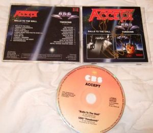 ACCEPT: Balls To The Wall - U.D.O TimeBomb CD. (2 albums in one disc) official compilation