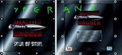 DEMON DAGGER: Soul of Steel CD. speed / thrash metal with Megadeth similarities. s