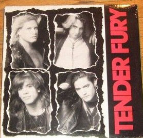 TENDER FURY : Tender Fury LP 1988, US HARD ROCK 2 founding members of T.S.O.L.