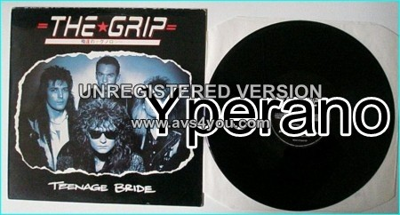 "THE GRIP: Teenage Bride 12"" EP 1989, UK Hard Rock Little Angels or (early) Thunder. CHECK VIDEOS"