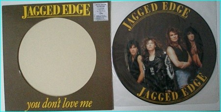 """JAGGED EDGE You dont love me [Limited Edition 12"""" picture disc. Look out for the unreleased song Fire and water] CHECK VIDEO"""