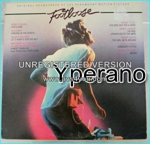 Various: Footloose. Original soundtrack LP. mainstream pop, anthemic rock, light dance-pop with style + hooks. Check videos