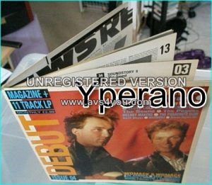 Various: Debut 4 (Magazine + 11 track LP) 1984 HUGE magazine LP inside. Electronic, Rock, New Wave, Pop Rock, Synth-pop. Videos