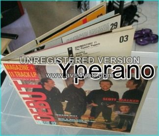 Various: Debut 2 (Magazine + 11 track LP) 1984 HUGE magazine LP inside. Electronic, Rock, New Wave, Pop Rock, Synth-pop. VIDEOS