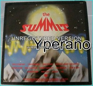 Various: The Summit 1979 compilation LP with: Dire Straits, Thin Lizzy, Yes, Pink Floyd, Bad Company, Led Zeppelin. Bad Company,