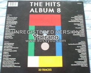 Various: THE HITS ALBUM 8 EIGHT [DOUBLE gatefold] LP 1988. Pop, Rock, Soft Rock, Europop, Pop Rock, Arena Rock. Check VIDEOS