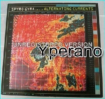 SPYRO GYRA: Alternating Currents LP. Jazz-Rock.