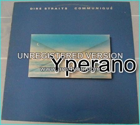 Dire Straits: communique LP. Classic Rock. s.