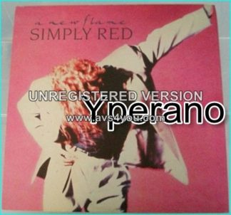 "Simply Red: A new flame LP. Incl. ""Its Only Love"". KILLER."