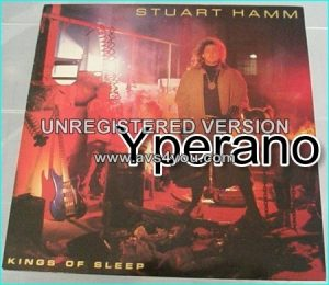 Stuart Hamm: kings of sleep LP The Joe Satriani, Steve Vai virtuoso bassist.