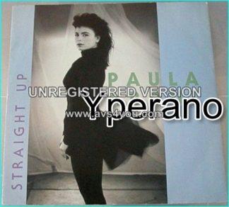 "Paula Abdul: straight up 12"" vinyl. Check video"