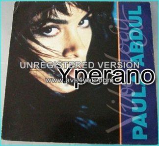 "Paula Abdul: vibeolody 12"" vinyl. Check video"