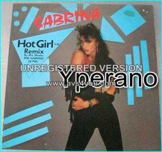 "SABRINA: Hot girl remix 12"". RARE. Check video (boobs popping out)"