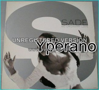 "SADE: no orndinary love 12"" Check video"