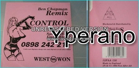 "Westwon: Control (Ben Chapman Remixes) 12"" UK. Do not resist the beat, let the beat control your body ."