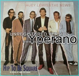 "Huey Lewis and the News: Hip to be square remixed 12"" Check video"
