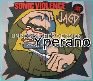 Sonic Violence: jagd LP. 1990 Peaceville. EBM, Doom Metal. Metal-oriented Industrial. Godflesh. Check videos